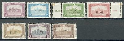 Fiume Michel Nr. 18-24 * MH Hungary Ungarn Italy be24