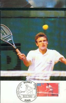 Germany BRD FRG MC Mk Tennis olympics Olympia bb70