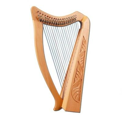 Celtic Heather Harp 22 String Standing Harp with padded Bag