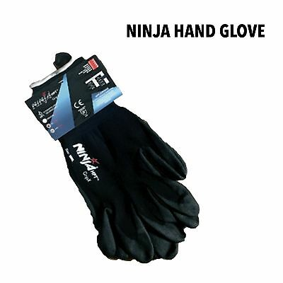 12 Pairs Ninja Gloves High Quality P4001 Gloves  Many Sizes Available !
