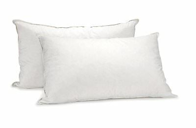 Royal Comfort Luxury 1000 GSM 233 Thread Count 100% Cotton Goose Pillow TwinPack