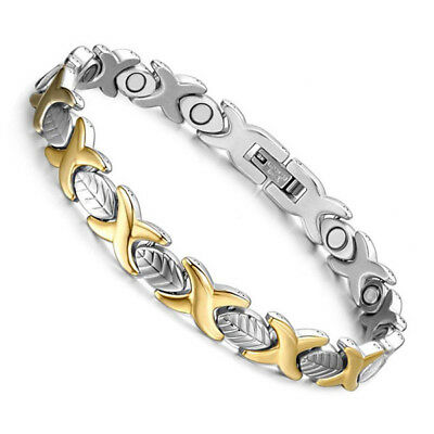 Ladies Kids Extra Strong Magnetic Therapy Bracelet Bio Healing Arthritis Pain 35