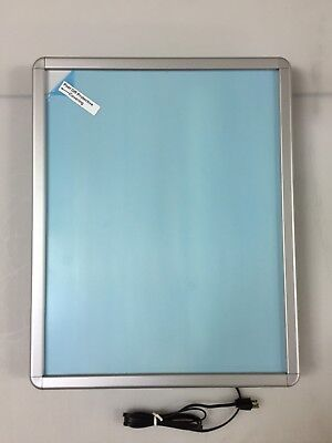 """22""""x28"""" Silver Snap Frame  Light Box for Business Sign / Poster Display"""