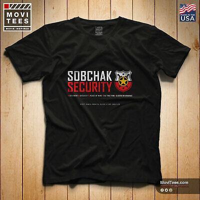 Premium Sobchak Security T-Shirt inspired by the classic movie The Big Lebowski