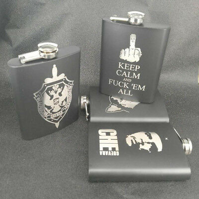 Portable Stainless Steel Liquor Wine Pot Flagon Hip Flask Alcohol Flagon