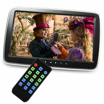 """10"""" Car Headrest Monitor HD LCD Screen Digital MP5 Player with Remote Control"""