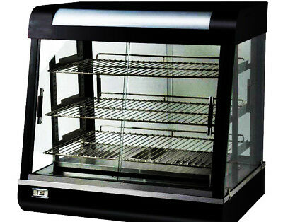 Commercial Glass Display Food Warmer