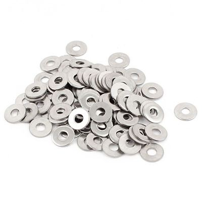 100pcs M3 3 mm metric 304 Stainless steel Flat washer Z6U4