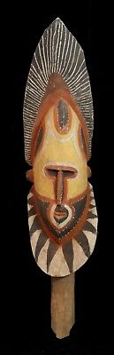 Excellent ABELAM MASK COLLECTED IN THE EARLY 60S NEW GUINEA