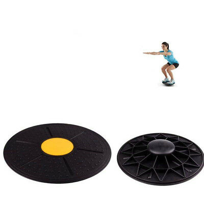 Fitness Stability Trainer Wobble Balance Board Disc Yoga Training Exercise cl2