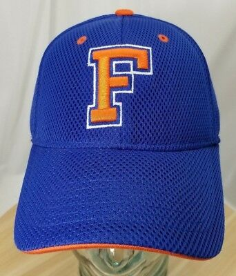9122a26b759 Florida Gators Blue Hat Embroidered Top Of The World Stretchy L   XL One-Fit