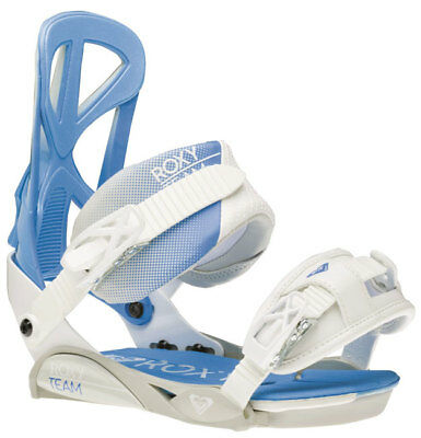 Snowboard Bindings Womens Roxy Team White fits boots sizes 5-10 *New*