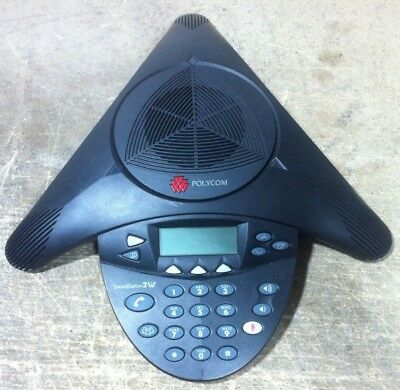 Polycom SoundStation 2W 2201-67800-101 Conference Unit