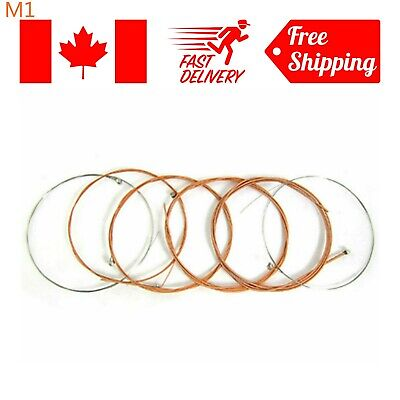 6pcs Acoustic Guitar String E-B-A-G-D-E Set for Guitar Strings Replacements