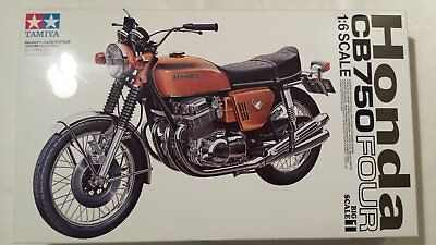 Tamiya 1/6 Honda Cb750 Four Big Scale Series No,1 Rare !!