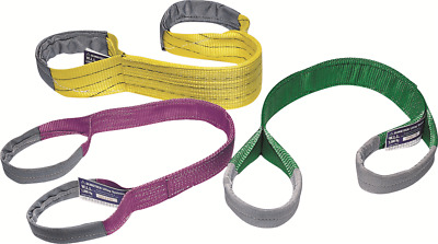 JBS FLAT WEBBING SLINGS 2m 1T 2Ply Polyester Colour-Coded VIOLET *Aust Brand