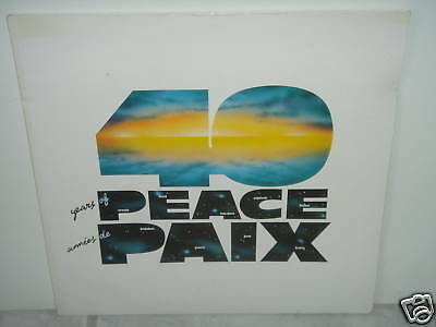 """*****NATO-40 YEARS OF PEACE 1989-12""""Inch FOC LP*****"""