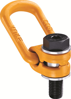 PWB Anchor SWIVEL & EXTENDED BOLT LOAD RING M16x2.0mm 1.5T Grade 10 YELLOW