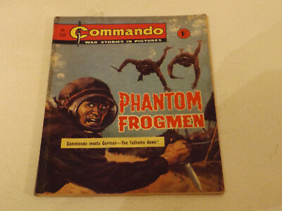 Commando War Comic Number 233!,1966 Issue,v Good For Age,52 Years Old,very Rare.