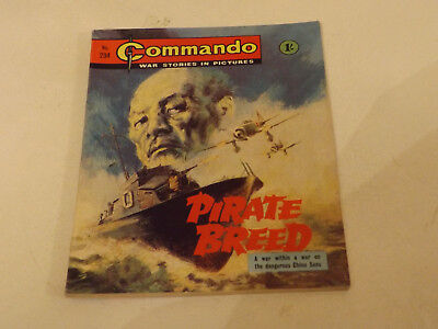 Commando War Comic Number 234!,1966 Issue,v Good For Age,52 Years Old,very Rare.