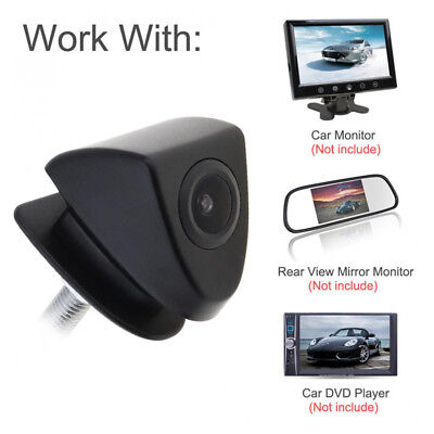 CCD Car SUV Rear Front View Camera 170° Wide Lens Angle Logo Embedded For Toyota