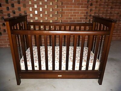 Love N Care 3-in-1 Classic Cot / Junior Bed with mattress