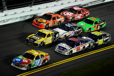 "059 Car Race - NASCAR USA Modified Cars 36""x24"" Poster"