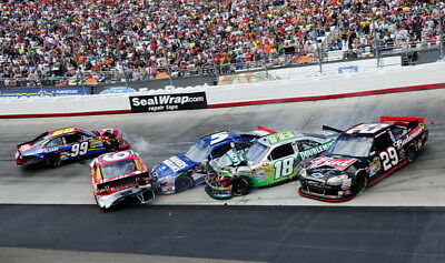 "066 Car Race - NASCAR USA Modified Cars 40""x24"" Poster"
