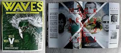 Mick Fanning Kelly Slater Surfing Surf WAVES Collectors Edition Magazine sport