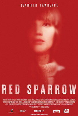 "005 RED SPARROW - Jennifer Lawrence Thriller 2018 USA Movie 14""x20"" Poster"