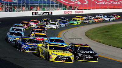 "074 Car Race - NASCAR USA Modified Cars 24""x14"" Poster"