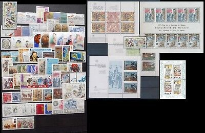 Europa Cept annata 1982 COMPLETA+sheets ** MNH shipping registered mail discount