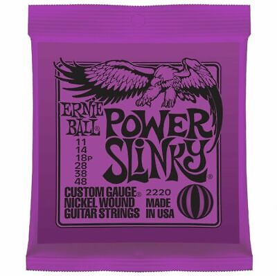Ernie ball 2220 Power Slinky Electric guitar strings  11- 48