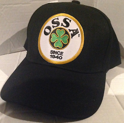 OSSA Baseball cap motorbike motorcycle Embroidered Patch