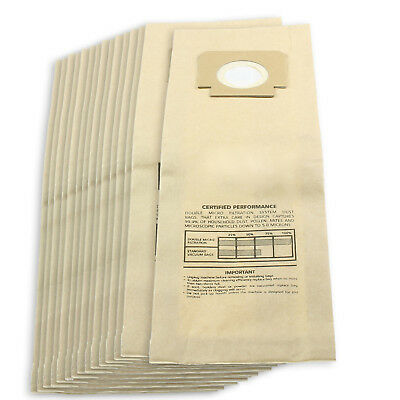 15 x H4 H18 Type Paper Dust Bags for BLOMBERG UPRIGHT BU11