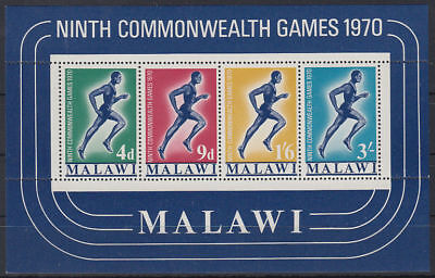 Malawi 1970 ** Bl.18 Sportspiele Commonwealth Games [st3300]