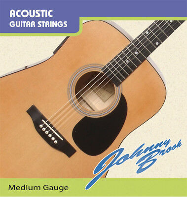 Nylon Classical Acoustic Guitar Strings - Medium Gauge - Pack of 6 Strings