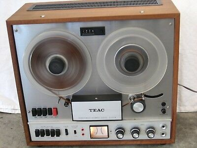 Vintage Teac A-1500-W Auto Reverse Reel To Reel Tape Deck
