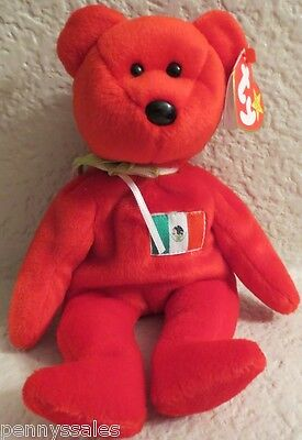 Ty Beanie Baby Osito 1999 5th Generation Hang Tag
