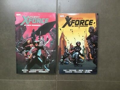 Uncanny X-Force Remender complete vol 1 & 2 TP