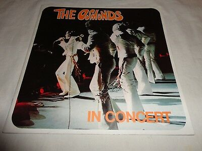 The Osmonds in Concert 1973  Tour Book  RARE Donny Osmond