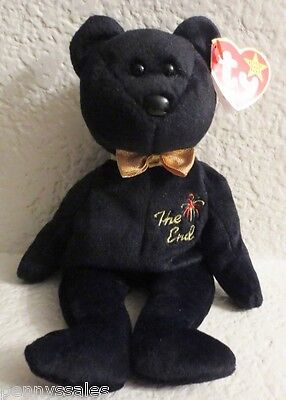Ty Beanie Baby The End 5th Generation Hang Tag