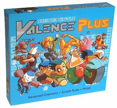 Valence Plus - Use Real Chemistry to Break Down Your Opponents' Molecules and Be