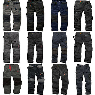 Scruffs Work Trousers (Various Styles and Sizes) Worker Plus 3D Trade Pro etc.