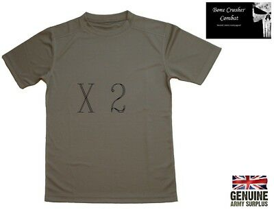 Coolmax T- shirt  Genuine British army - Moisture Wicking  –various sizes