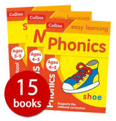Collins Easy Learning: Ages 3-5 - 15 Books