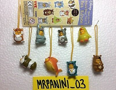 WINNIE THE POOH Animal Wear Part 7 -Tomy SORPRESINE- Serie Completa 8 pz (S4)