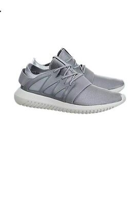 wholesale dealer 8c501 b3805 Adidas Tubular Viral Womens S75907 Silver White Metallic Athletic Shoes  Size 8