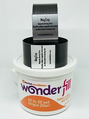 Wonderfill Tongue Void Filler + 2 MagTop Magnetic Boxing Strips