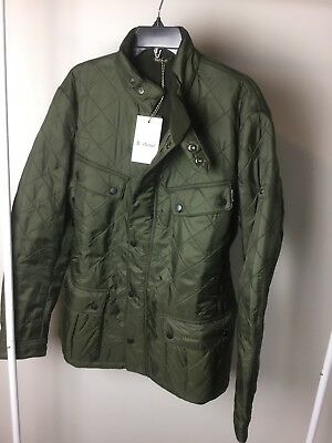 Brand new BARBOUR INTERNATIONAL ARIEL Polarquilt men's jacket XLarge